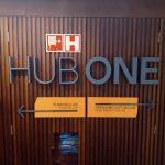 sinalização letra caixa hub one